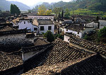 Xidi village in Anhui's Yi county, Ming and Qing dynasty architecture, near Huangshan