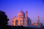 Taj Mahal at dawn