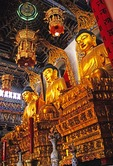 Zhenjiang's Jinshan (Gold Hill) Temple Buddha statues