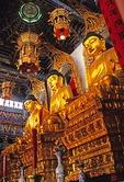 Zhenjiang's Jinshan (Gold Hill) Temple Buddha statues