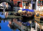 Zhouzhuang water town near Shanghai (just inside Jiangsu province) in Yangtze River valley