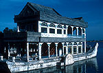 Summer Palace's Marble Boat built in late Qing dynasty for the Dowger Empress Cixi on the edge of Kunming Lake
