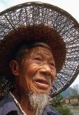 Farmer near Guilin in countryside