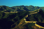 Great Wall at Badaling pass, northwest of Beijing in Hebei province.