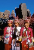 Stone Forest Sani women guides