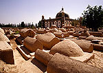 Kashgar's Abakh Hoja Tomb, graves in cemetery