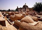 Kashgar's Abakh Hoja Tomb, graves in cemetery