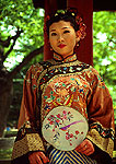 Xi'an woman in traditional dress