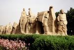 Xian's Silk Road caravan statue