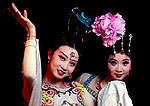 Xian's Tang dynasty dancers in performance from The Silk Road by the Shaanxi Provinical Song & Dance Troupe