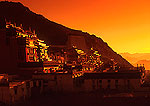 Shigatse's Tashilhunpo Monastery at dawn