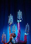 Shanghai acrobat balancing act