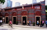 Shanghai site of First National Congress of Chinese Communist Party in 1921, now restored and next to upscale Xintiandi Restaurant  Mall