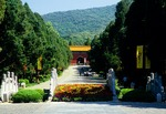 Nanjing's Ming Filial Tomb (Ming Xiao Ling) of the founder of the Ming dynasty, the Hongwu Emperor, Zhu Yuanzhang