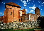 Turaida medieval castle ruins.