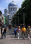 Kaunas pedestrian mall