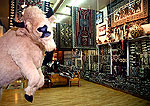 Richardson's Trading and Pawn features extensive selection of Navajo rugs.