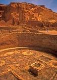 Chaco Culture Historical Park's Pueblo Bonito kivas