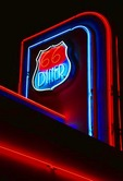 66 Diner neon on Historic Route U.S. 66