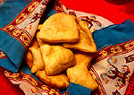Sopapillas, southwest cuisine, prepared at the Jane Butel Cooking School in Albuquerque