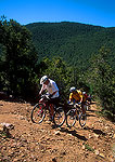 Mountain biking in Carson National Forest, Sangre de Cristo Mountains