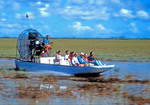 Florida Everglades airboat.