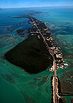 Florida Keys at Islamorada from air