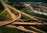Interstate highway interchange