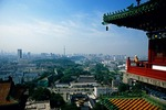 View of Nanjing from River Viewing Tower (Yue Jiang Lou)