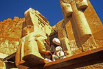 Temple of Hatshepsut restoration work