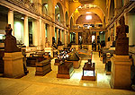 Cairo Museum's main hall