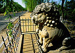 Beijing's Ming Tombs Spirit Way (Shen Dao) carved stone lion