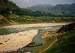 Daning River, tributary of the Yangtze, in the Three Gorges Scenic Area