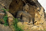 Yungang Buddhist Grottoes Cave 5, 17 meter high Buddha