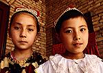Uighur girls in Kashgar