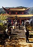 Western Hills Buddhist Huating Temple near Dragon Gate outside Kunming