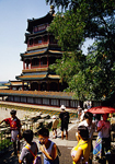 Beijing's Summer Palace Pavilion of Buddhist Virtue atop Longevity Hill