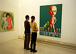 Beijing's contemporary art scene at China Art 110 Gallery in the city's northeast Chaoyang district