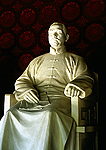 Beijing's Fragrant Hills Park, sculpture of Dr. Sun Yatsen