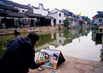 Xitang ancient water town, location for film Mission Impossible III