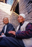 Qikou ancient Yellow River town old friends