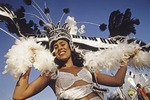 Sint Maarten Carnival dancer MODEL RELEASED
