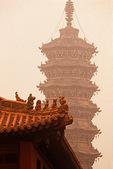 Bailin Zen Buddhist Temple's Jin dynasty pagoda.