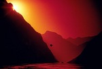 Yangtze Three Gorges sunrise