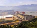 Yangtze Three Gorges Dam at Sandouping