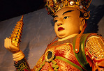 Western King Virupaka (one of the four Heavenly Kings) in the 7th century Lingyun Temple, renovated in 17th century.