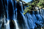 Nuorilang Falls in the Jiuzhaigou (Nine Village Valley) natural scenic area, World Natural Heritage site