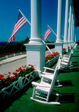 Mackinac Island's Grand Hotel porch is world's longest