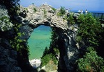 Mackinac Island's Arch Rock