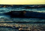 Lake Superior wave at Pictured Rocks' Twelve Mile Beach